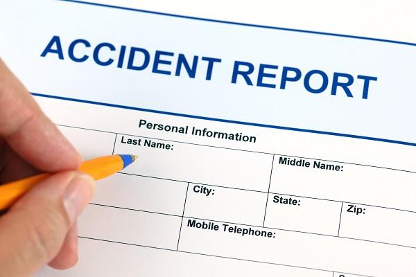 Foto Accident report